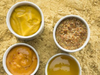 Mustard powder and prepared mustard