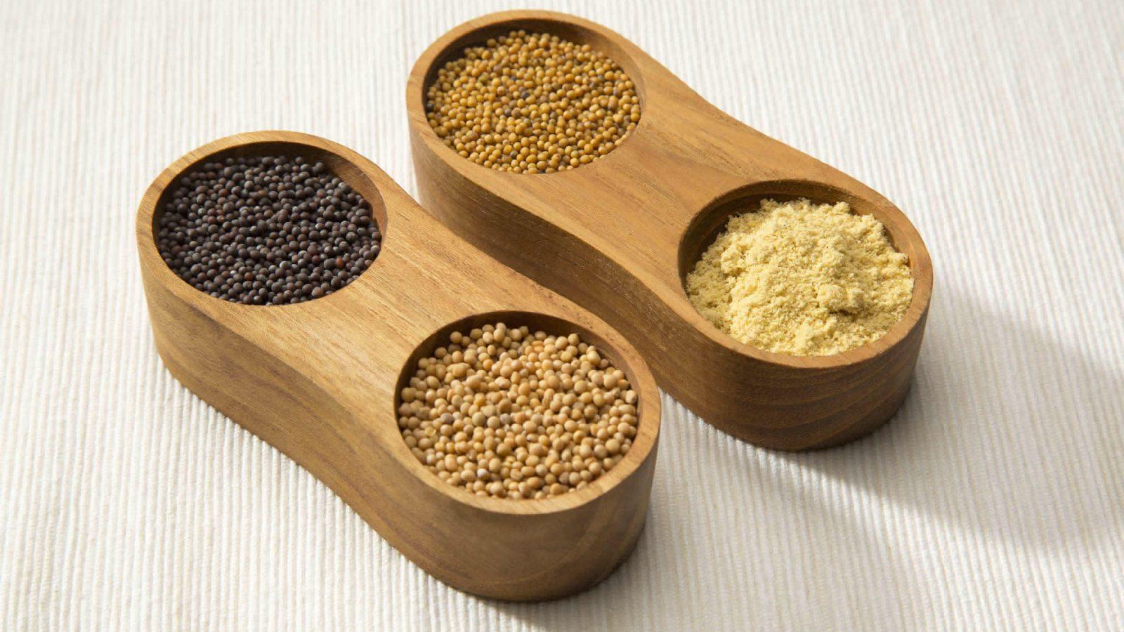 Mustard seed and Mustard Powder