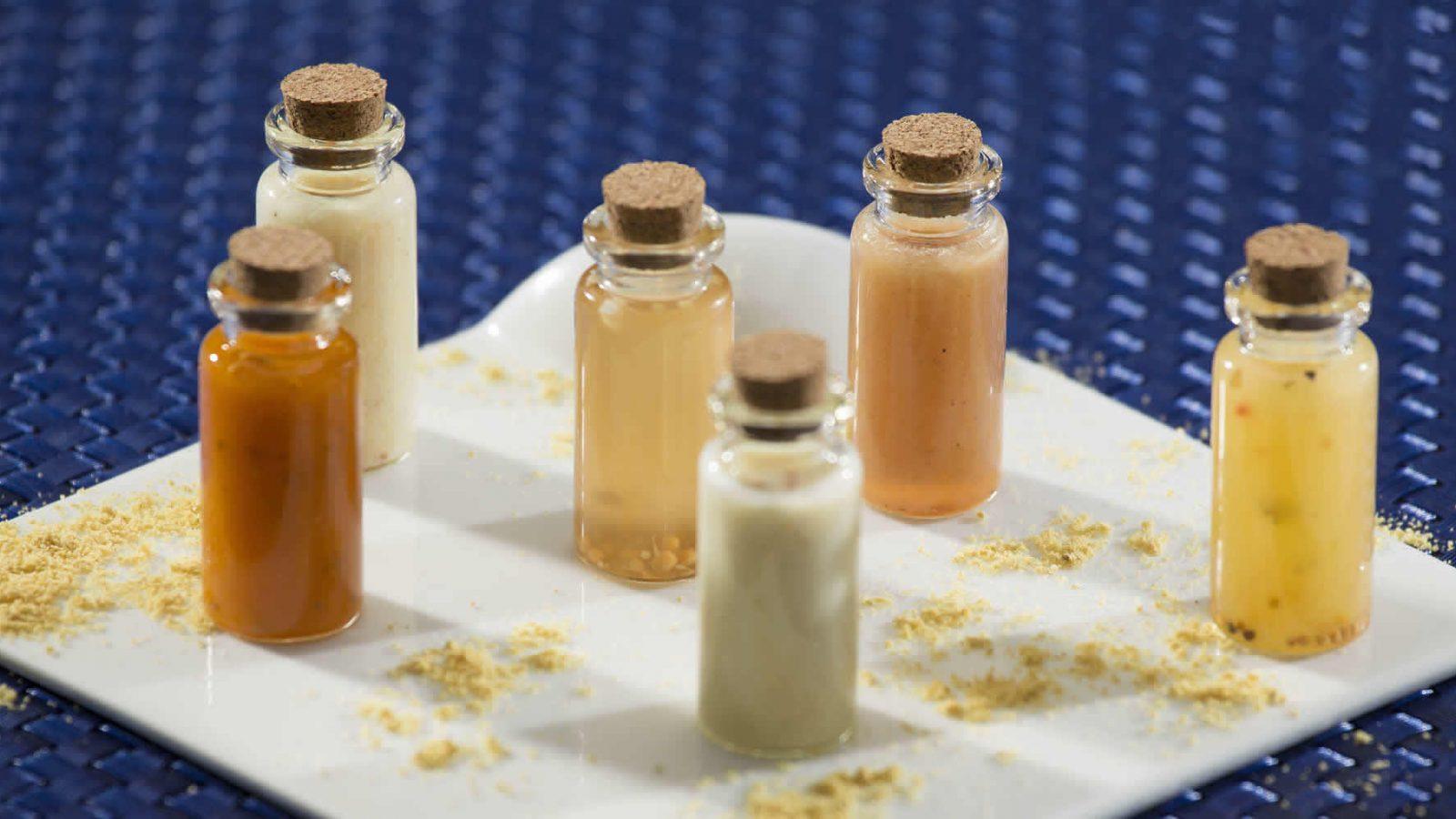 Vials of Mustard